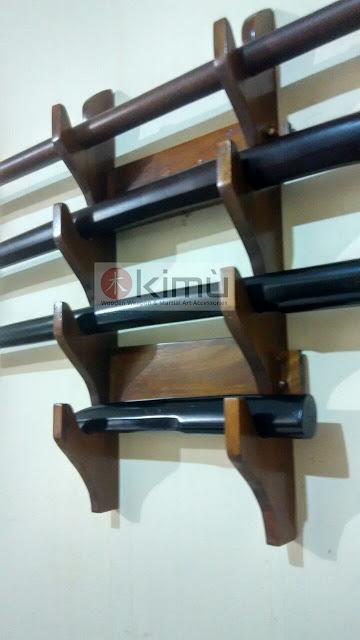 KIMU Dragon Claw Wall Katanakake (rak / tatakan pedang atau katana) - 4 tingkat
