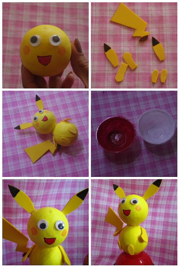 Dulcera de pokémon para una fiesta infantil