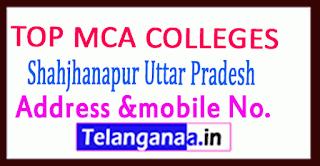 Top MCA Colleges in Shahjhanapur Uttar Pradesh