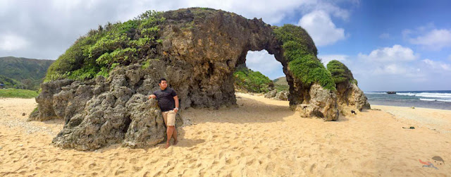 Fitz Balba in Morong Beach - Panoramic Shot