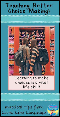 Help your students make better choices! Tips from Looks-Like-Language!