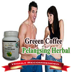 PELANGSING HERBAL RECOMENDED GREEN COFFEE ASLI