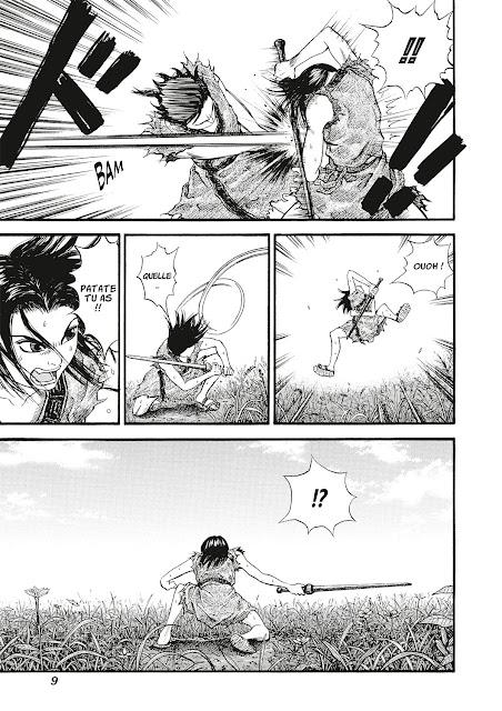 Kingdom tome 1 de Yasuhisa Hara aux éditions Meian page 9