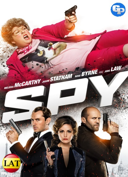 Spy: Una Espia Despistada (2015) HD 720P LATINO/INGLES