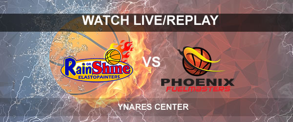 List of Replay Videos ROS vs Phoenix September 13, 2017 @ Ynares Center
