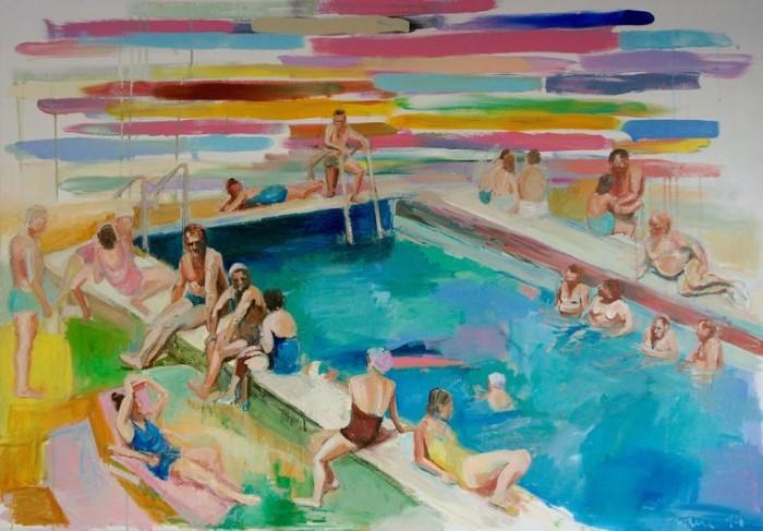 Немецкий художник. Janina Brugel