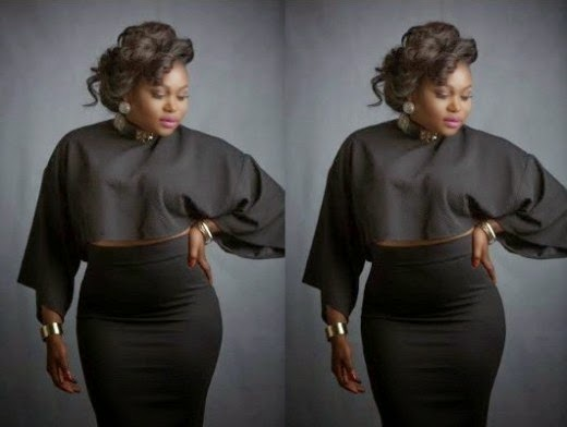 Actress Ruth Kadiri Dazzles In Black