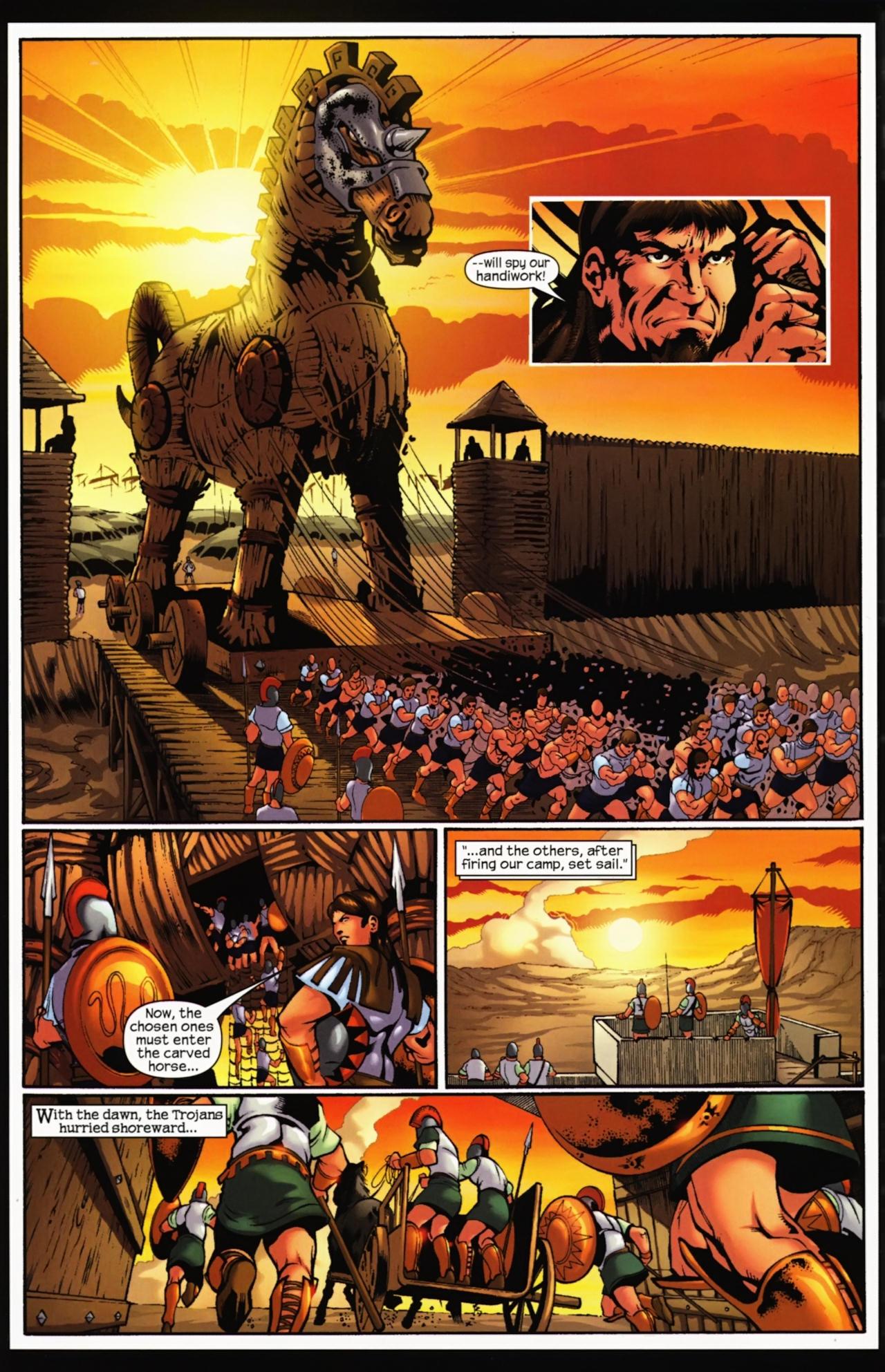 Read online Trojan War comic -  Issue #4 - 31