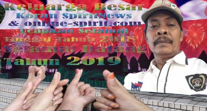 Keluarga Koran SpiritNews dan Online-spirit.com, Happy New Year 2019