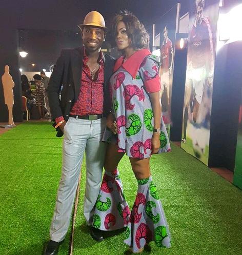 Timi Dakolo and his wife