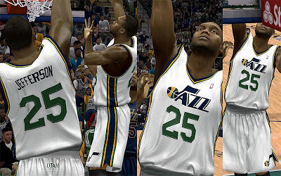 NBA 2K13 Utah Jazz Home Jersey Patch