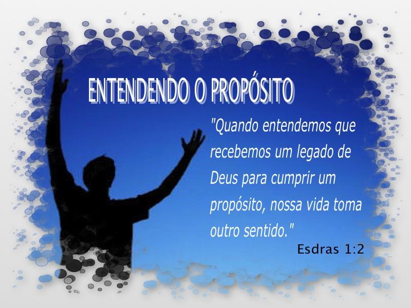 Persevere Em Oração Que Deus Irá Cumprir: Tempo Com A Palavra: Entendendo O Propósito