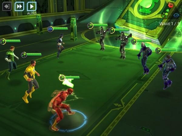 لعبة DC Legends للهاتف