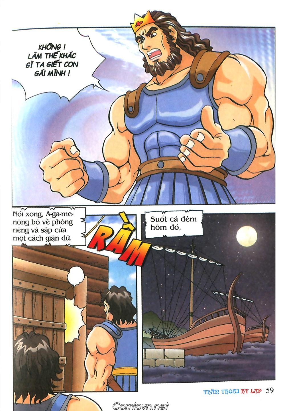 Thần Thoại Hy Lạp Màu - Chapter 53: Trước giờ xung trận - Pic 23