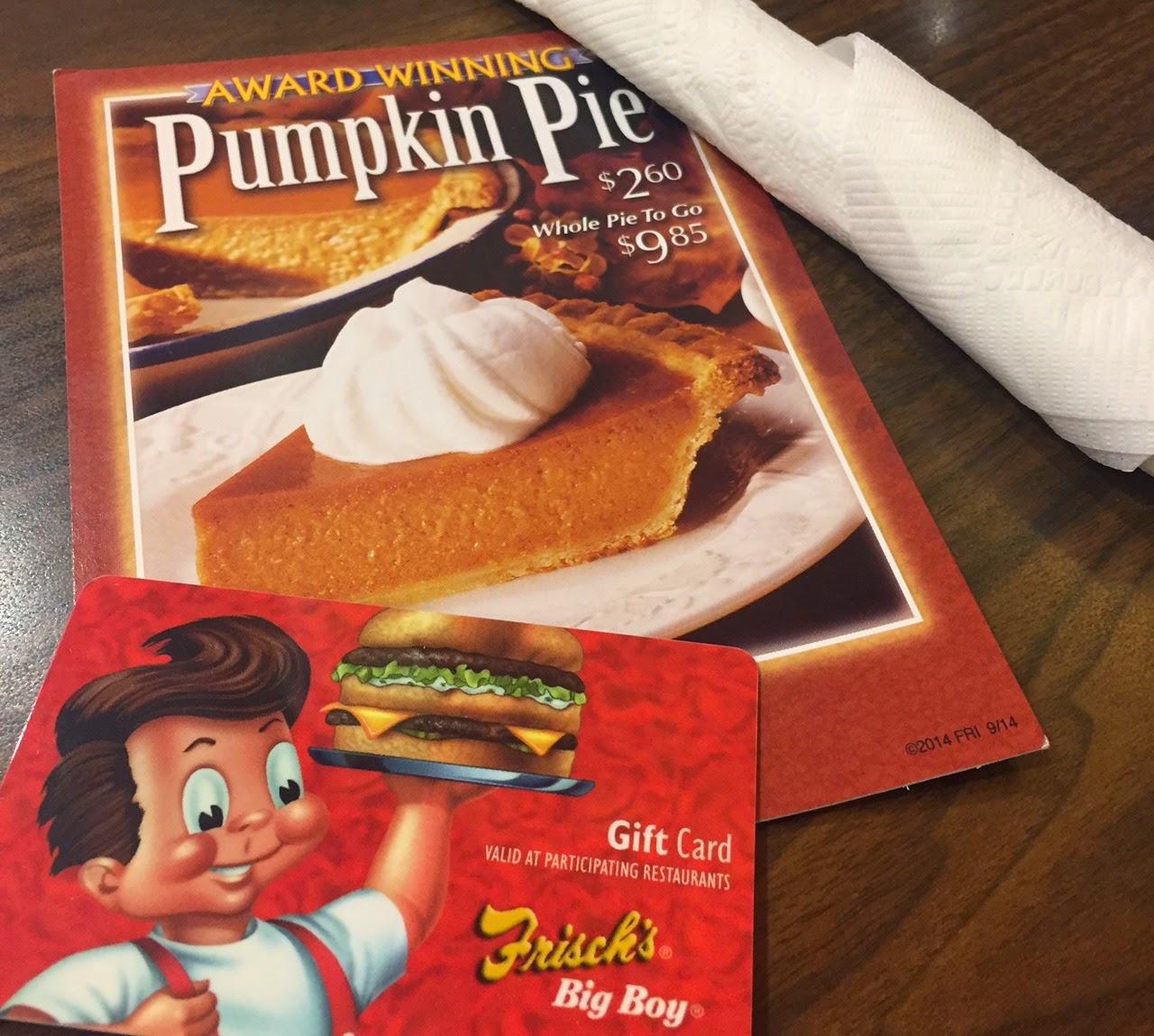 Nominate Someone For A Frisch's Pumpkin Pie Today!
