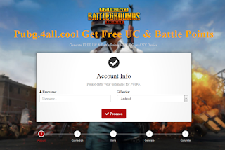 Pubg 4all Cool, Generate Free UC and Battle Point Online Pubg.4all.Cool