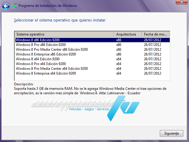 Windows 8 All In One Versión 3.0 TEU