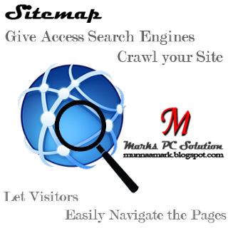 Web Logo with Magnifying Glass