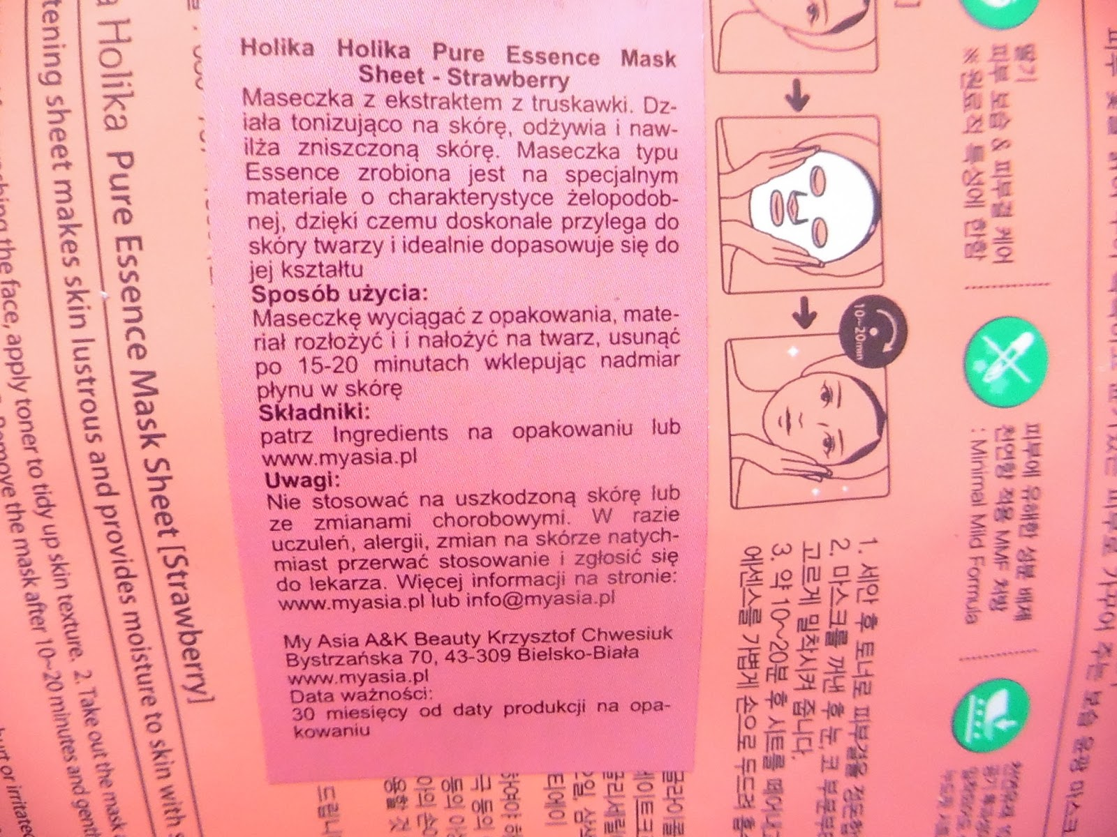 Pure-Essence-Mask-Sheet, holika-holika-maska-w-plachcie