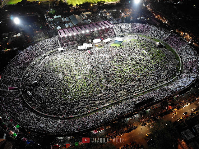 Stadion di Kelantan Malaysia Tak Mampu Tampung Jama'ah Ustadz Abdul Somad