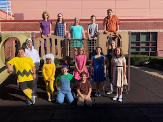 Franklin Middle School Footlighters present You're a Good Man, Charlie Brown