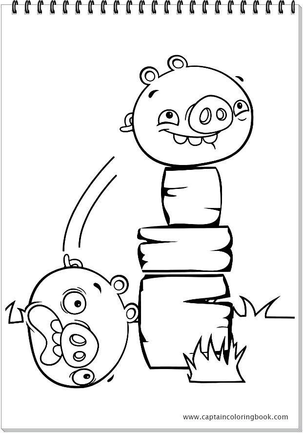 Angry Birds Stella coloring pages on Coloring-Book.info | 887x621