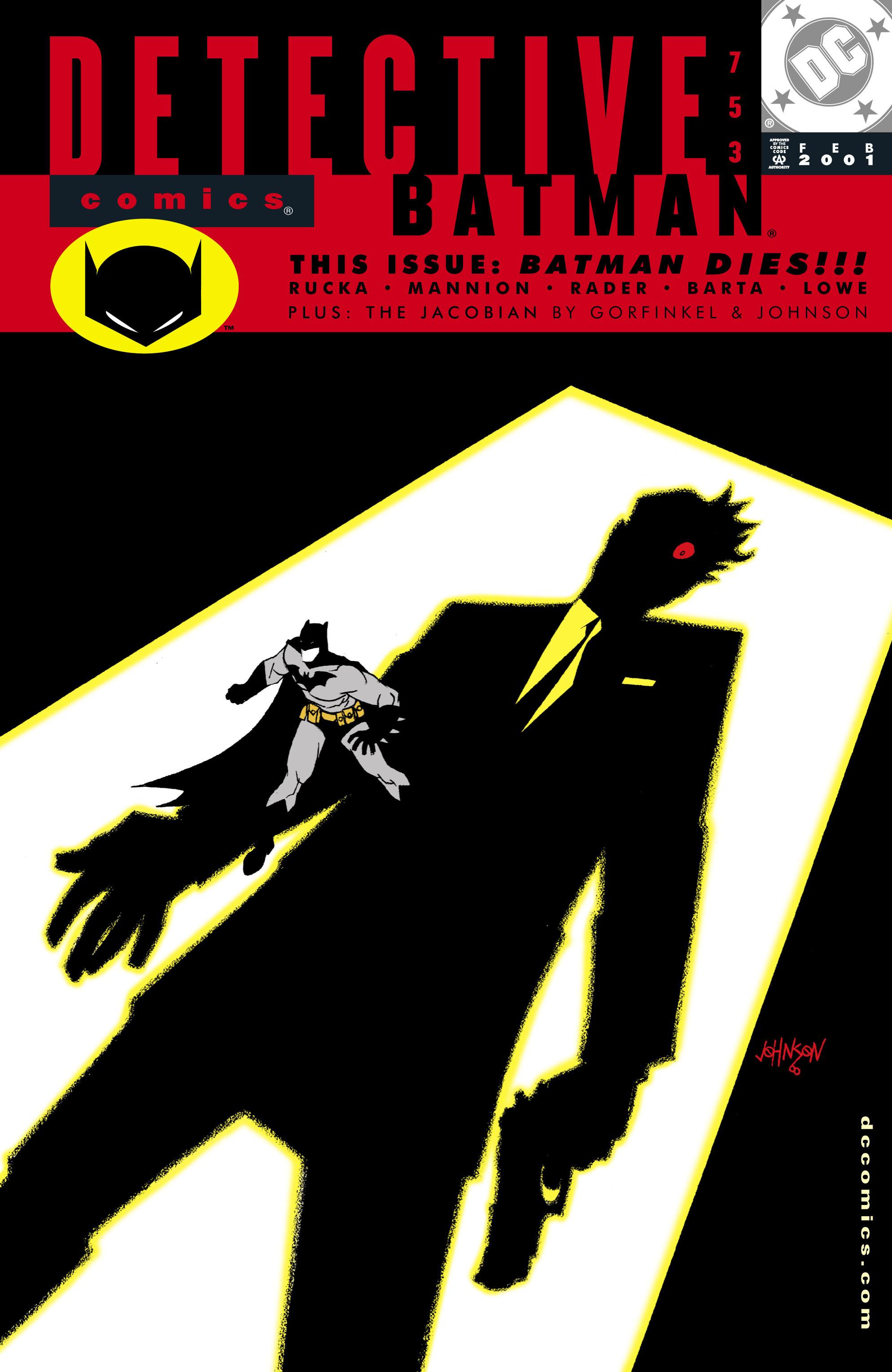 Detective Comics (1937) 753 Page 0