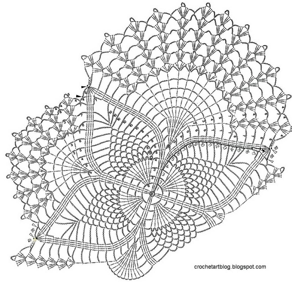 Katrinshine: Free crochet doily patterns