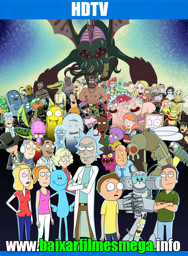 Download Rick and Morty 3ª Temporada (2017) – Legendado MP4 720p HDTV MEGA