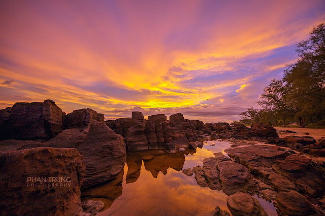 Sunset Phu Quoc by Phan Trung