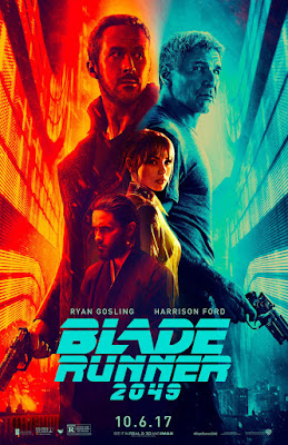 Blade Runner 2049 Blue and Orange Movie Poster