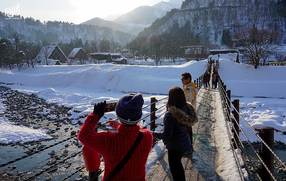 รีวิวเที่ยวญี่ปุ่น : หมู่บ้าน Shirakawago