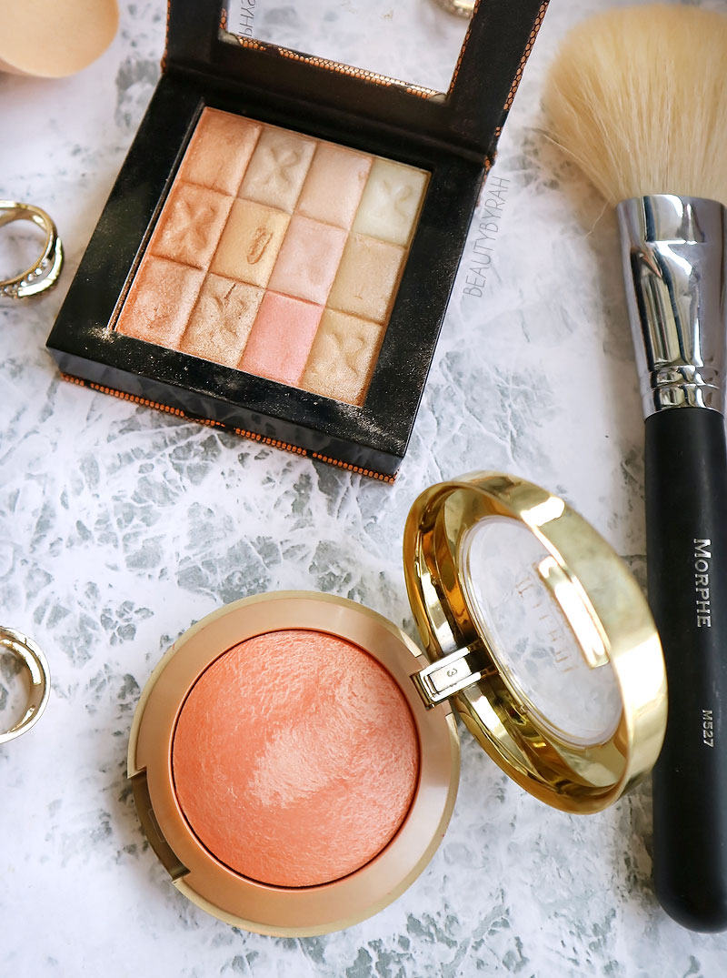 Milani Luminoso and Physician's Formula Shimmer Strip in Warm Nude