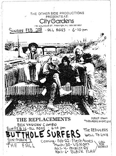 The Replacements Live Archive Project: February 2, 1986