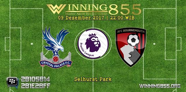 Prediksi Akurat Crystal Palace vs Bournemouth 09 Desember 2017