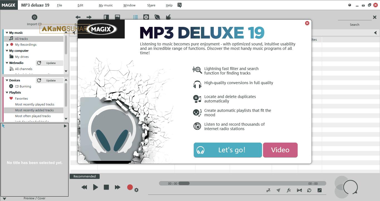 Download MAGIX MP3 Deluxe 19.0.1.48 Full Version Terbaru