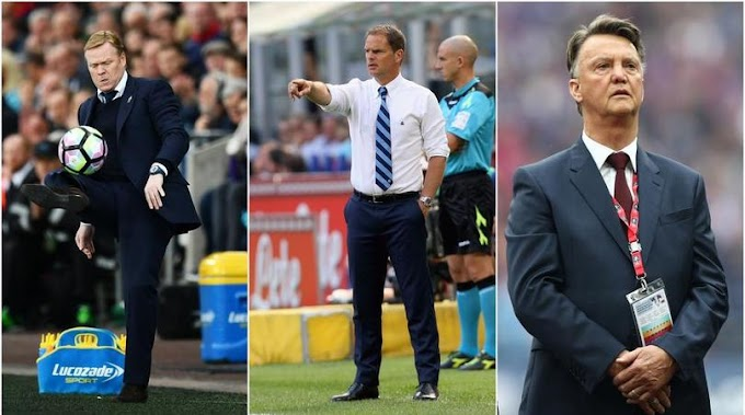Dutch courage needed? De Boer follows likes of Van Gaal & Koeman to Premier League