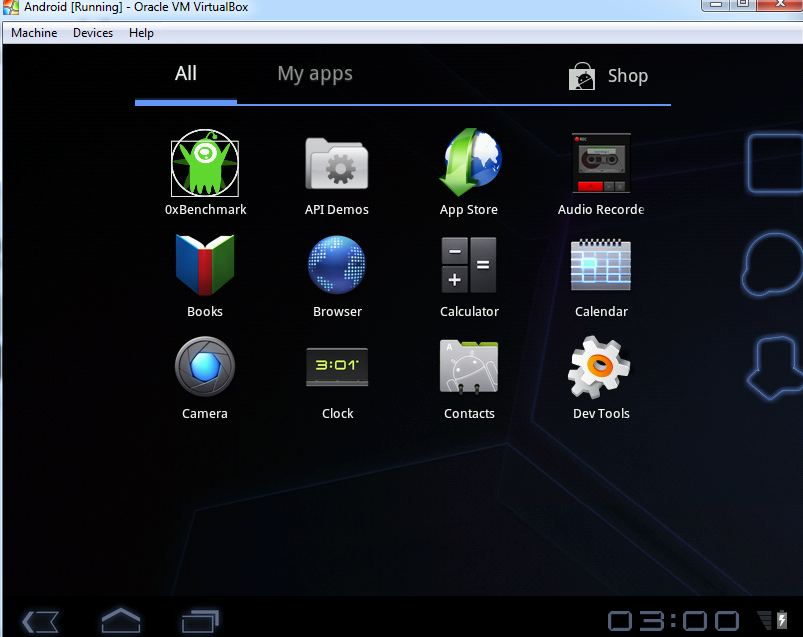 Android Simplicity: Android 3 2 & 2 3 Live Installation Images Released