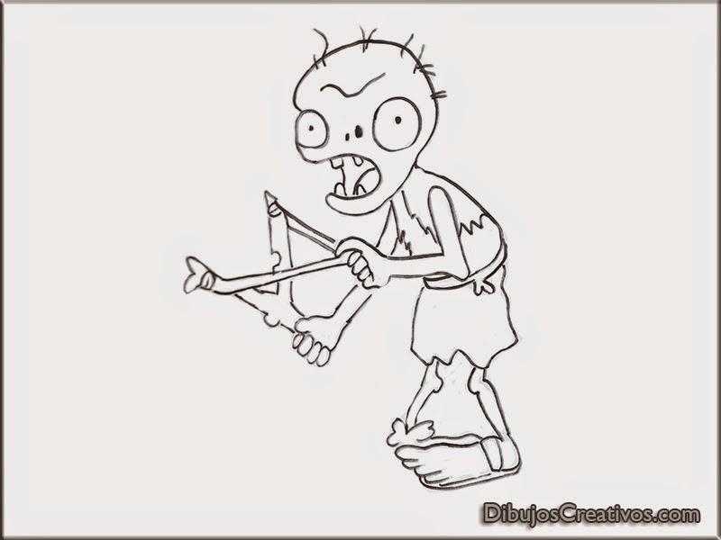 Los Dibujos De Plantas Vs Zombies Los Zombies Youtube