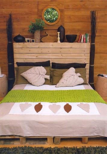 Cabecera original cama