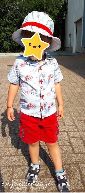 """""""Martin and the planes"""" shirt and hat / Camasa si palarie """"Martin si avioanele"""""""