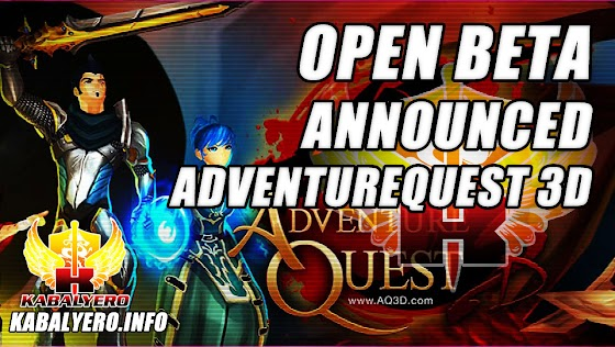 Open Beta Release Announced ★ Adventure Quest 3D