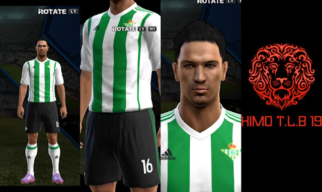 PES 2013 Real Betis FC Home Kit 2017-18 By KIMO T.L.B 19