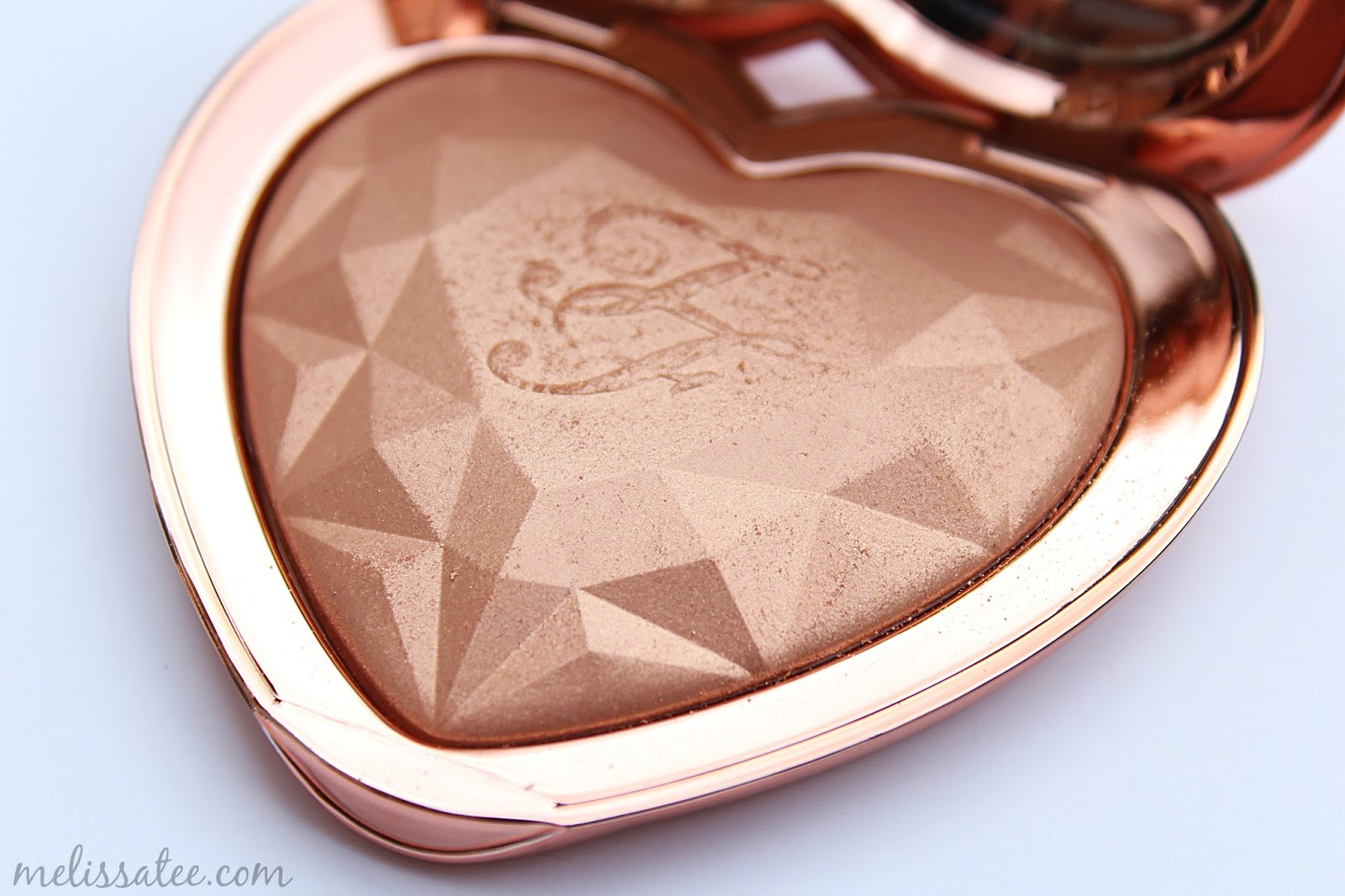 The Blushing Introvert Too Faced Love Light Prismatic