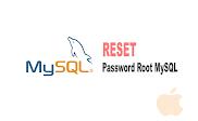 Cara Reset Default Password Root Mysql Mac Dengan Terminal