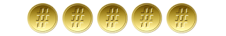 05 medalhas #tas