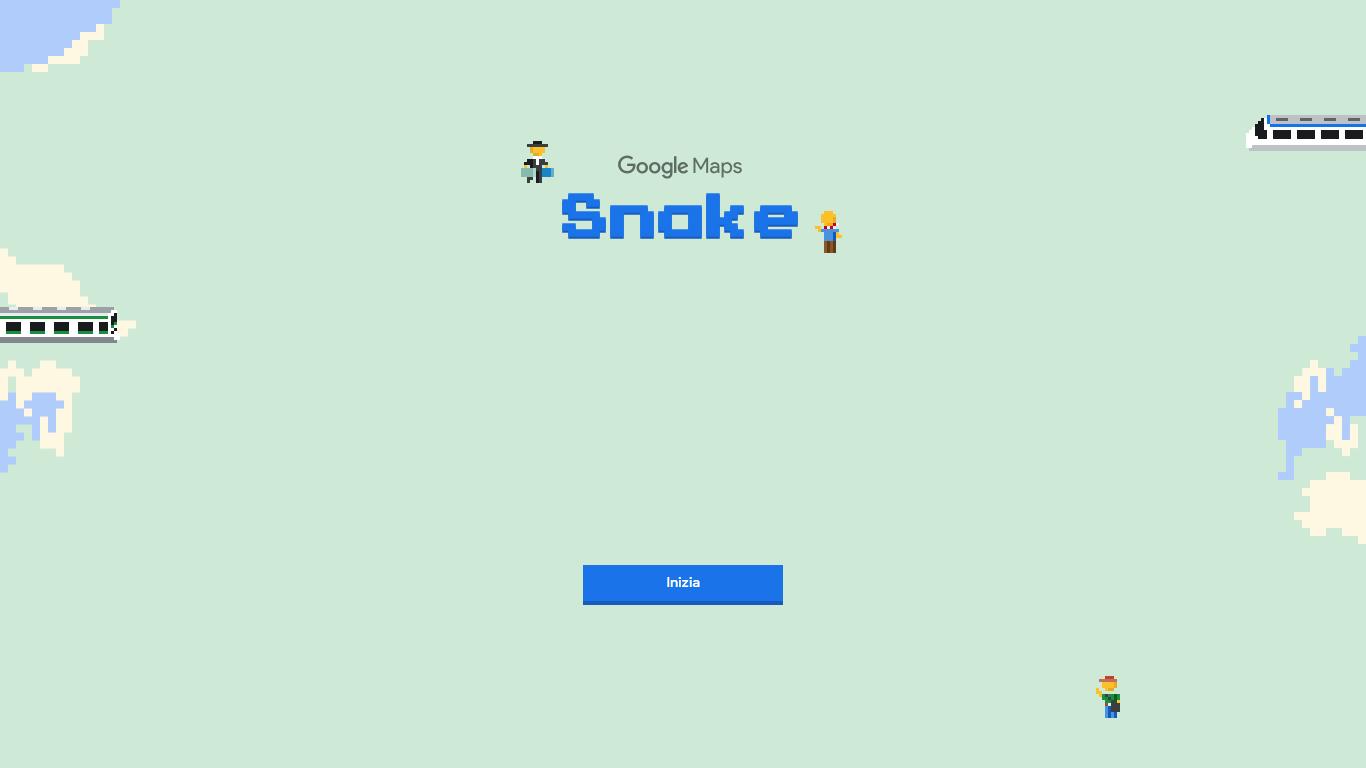Snake-Google-Maps