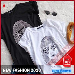 MRTT034K87 Kaos Wanita Casual Tshirt Keren BMGShop