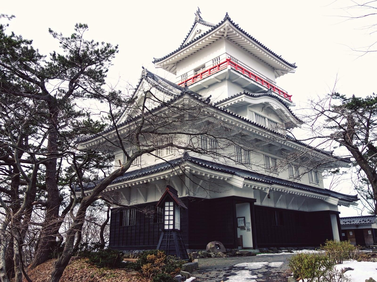 Japan, castle , akita