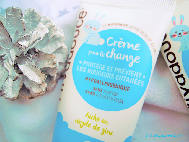 Crème de change - Rivadouce Bébé - Les Mousquetettes©